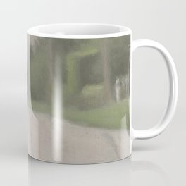 Beach Road after Rain - Clarice Beckett - Australian abstract Realism Coffee Mug
