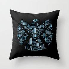 Alien Agents Throw Pillow