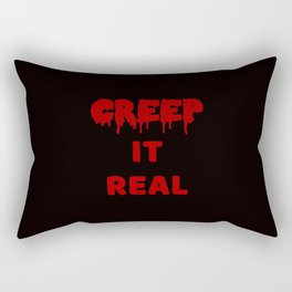 The Halloween Mottto I Rectangular Pillow
