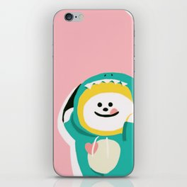 Dinosaur Chimmy (Pink Ver.) iPhone Skin