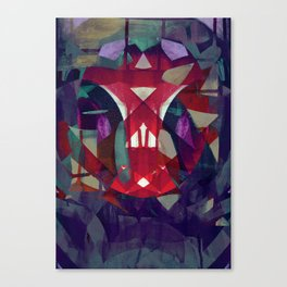 reflective torsion Canvas Print
