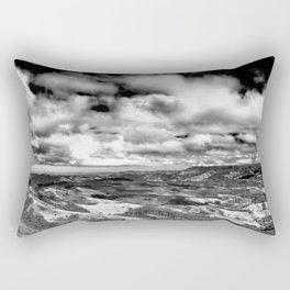 Mountains Panorama Rectangular Pillow