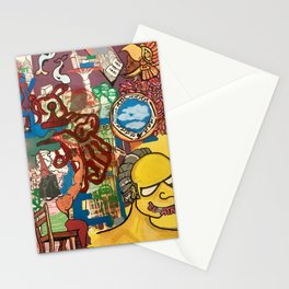 BE AFRAID Stationery Cards