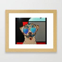 Doggie Time Framed Art Print