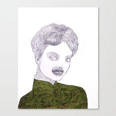 Epilation Mask Canvas Print
