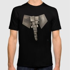 Elephant² Black X-LARGE Mens Fitted Tee