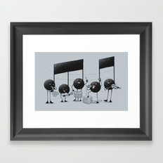 The Entertainer Framed Art Print