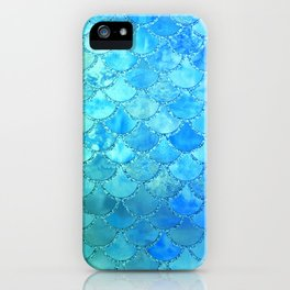 Summer Dream Colorful Trendy Mermaid Scales iPhone Case