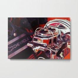 Chevrolet Motor Metal Print