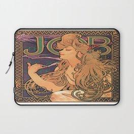 Vintage poster - JOB Cigarettes Laptop Sleeve