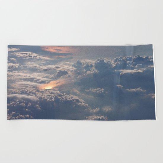 Looking Down from Heaven Beach Towel