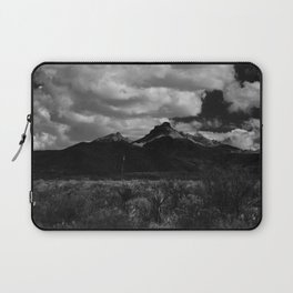 Dramatic Clouds over Mountain Range in Big Bend Laptop Sleeve
