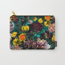 Botanical Multicolor Garden Carry-All Pouch