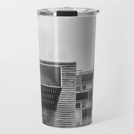 Building in Amsterdam Travel Mug