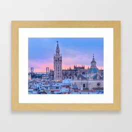 Sevilla, Spain Framed Art Print