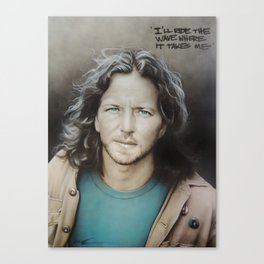 'E. Vedder' Canvas Print