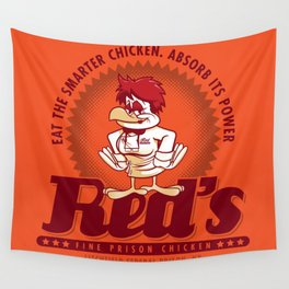 Red's Prison Chicken Wall Tapestry