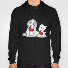 Valentine's Day Dogs Hoody