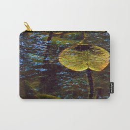 Lily Pads Under Water Carry-All Pouch