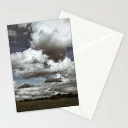 Moodiness in the clouds Stationery Cards