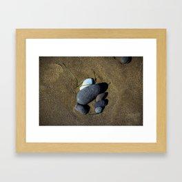 Sand and Stone Framed Art Print
