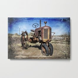 Old style Case Metal Print