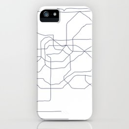 Seoul Subway iPhone Case