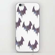 Space bats iPhone & iPod Skin