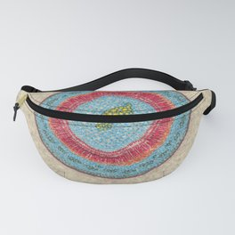 Growing - Hoya - plant cell embroidery Fanny Pack