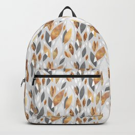 Falling Gold Leaves Backpack