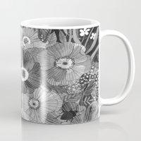 oana befort Mugs featuring Kitty Undercover by Oana Befort