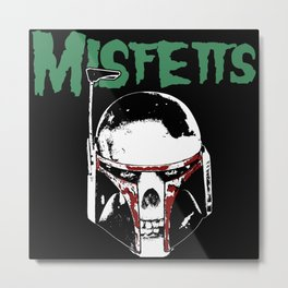 Misfetts Metal Print