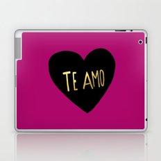 Te Amo II Laptop & iPad Skin
