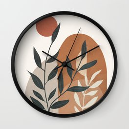 Branches Design 05 Wall Clock