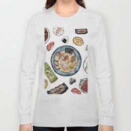 Favourite Japanese Foods Long Sleeve T-shirt