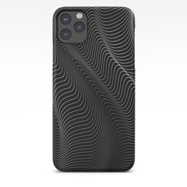 Minimal curves II iPhone Case
