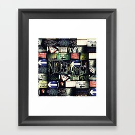 Welcome To London Framed Art Print