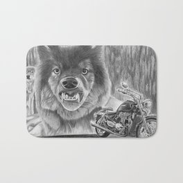 A Wild Ride Bath Mat