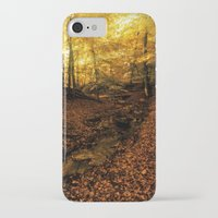 denmark iPhone & iPod Cases featuring Forest Haslev, Denmark - Autumn by by Henrik Wulff Petersen (zoomphoto)