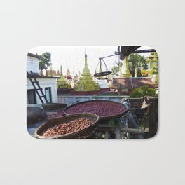 View from the Nunnery, Myanmar Bath Mat