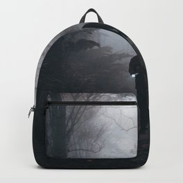 Halloween Figure in the Dark (Color) Backpack
