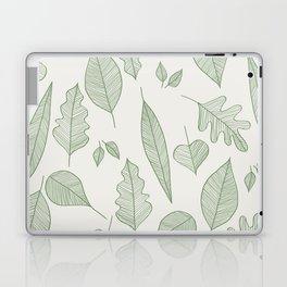 Falling Leaves Pattern I Light Laptop & iPad Skin