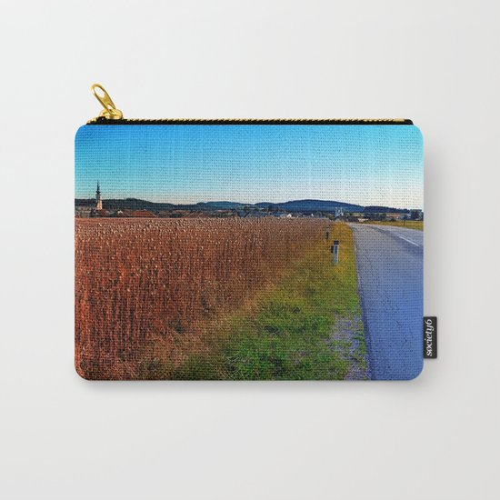Poppy field road Carry-All Pouch
