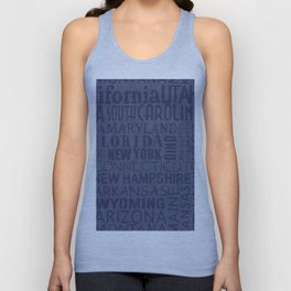 States of the United States Unisex Tank Top