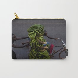Bananas on a bike | Travel photography Africa Carry-All Pouch