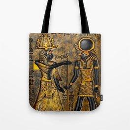 Egyptian Gods Tote Bag