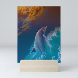 Dolphin Magic Mini Art Print