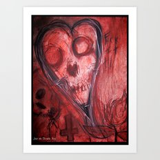 Tales Of A Scorched Earth Art Print