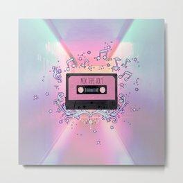 Mix Tape Vol 1 Metal Print