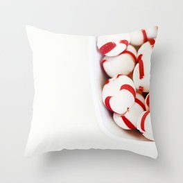 Minty! Throw Pillow